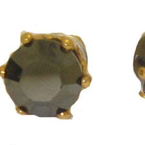 Black 2 Carat T.W. Swarovski Stone Element NWT